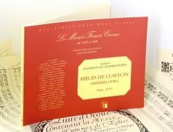 de Chambonnières Jacques Champion - Pièces De Clavecin Livre 1 - Partition - di-arezzo.fr