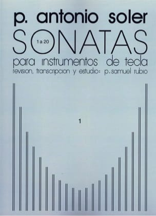 Antonio Soler - Sonates. Volume 1 - Partition - di-arezzo.fr