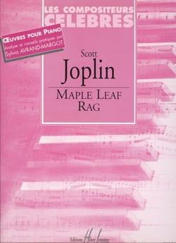 Maple Leaf Rag - Scott Joplin - Partition - Piano - laflutedepan.com