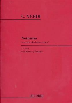 Notturno guarda Che Bianca Luna - Giuseppe Verdi - laflutedepan.com