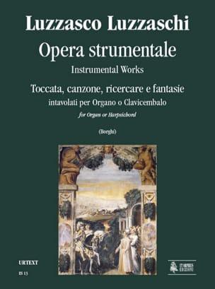 Luzzasco Luzzaschi - Opera Strumentale - Partition - di-arezzo.fr