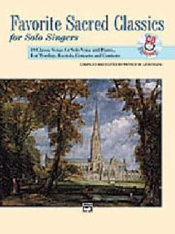 - Favorite Sacred Classics. Voix Haute - Partition - di-arezzo.fr