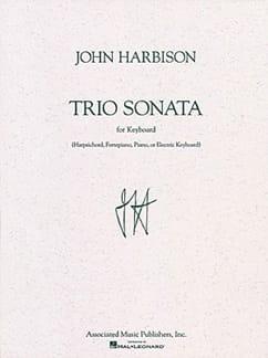 John Harbison - Sonata Trio - Sheet Music - di-arezzo.com