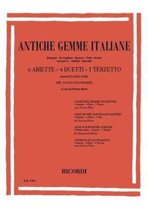 - Antiche Gemme Italiane - Partition - di-arezzo.fr