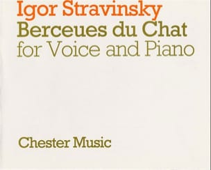Igor Stravinski - Berceuses Du Chat - Partition - di-arezzo.fr