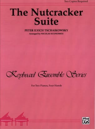 Nutcracker Suite Opus 71. 2 Pianos TCHAIKOWSKY Partition laflutedepan