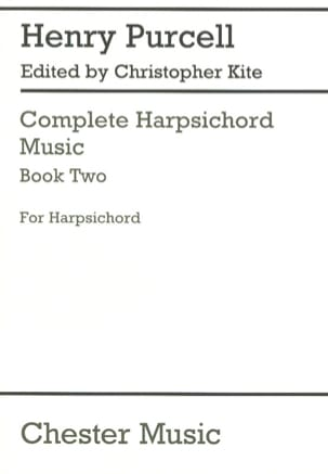 Complete Harpsichord Music Volume 2 - Henry Purcell - laflutedepan.com
