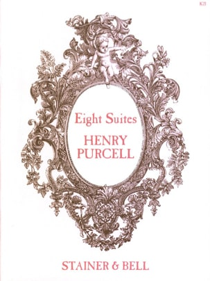 8 Suites Henry Purcell Partition Clavecin - laflutedepan