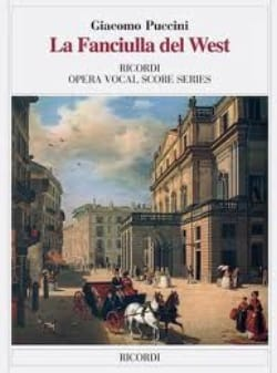 Giacomo Puccini - La Fanciulla Del West - Sheet Music - di-arezzo.co.uk