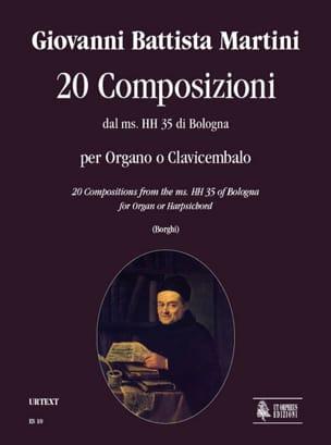 20 Composizioni - Martini - Partition - Clavecin - laflutedepan.com