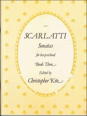 Sonates Volume 3 - Domenico Scarlatti - Partition - laflutedepan.com