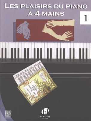 - Les Plaisirs Du Piano 4 Mains. Volume 1 - Partition - di-arezzo.fr