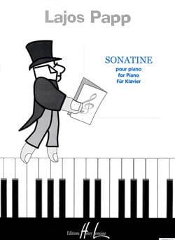 Sonatine Lajos Papp Partition Piano - laflutedepan