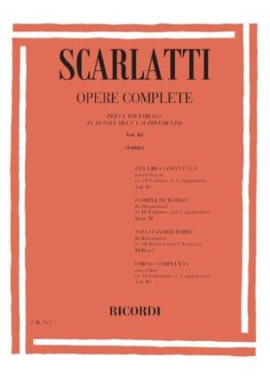 Sonates Volume 3. L101 A L150. - Domenico Scarlatti - laflutedepan.com
