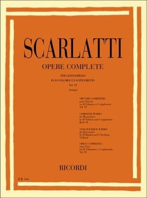 Sonates Volume 6. L251 A L300 - Domenico Scarlatti - laflutedepan.com