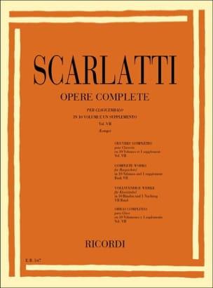 Domenico Scarlatti - Sonates Volume 7. L301 A L350 - Partition - di-arezzo.fr