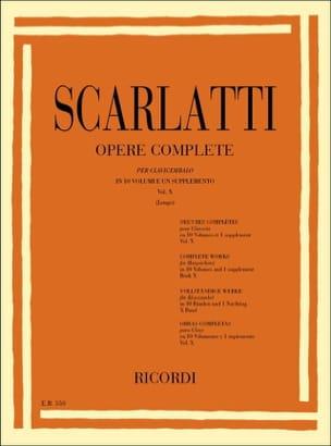 Domenico Scarlatti - Sonata Volume 10. L451 A L500 - Sheet Music - di-arezzo.co.uk