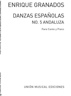 Enrique Granados - Andaluza - Sheet Music - di-arezzo.co.uk
