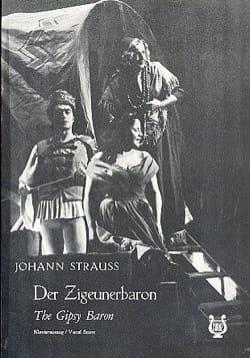 Der Zigeunerbaron Johann fils Strauss Partition Opéras - laflutedepan