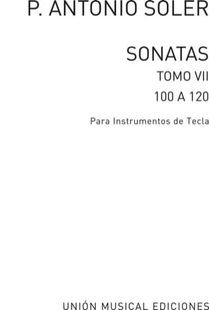 Sonates. Volume 7 Antonio Soler Partition Clavecin - laflutedepan