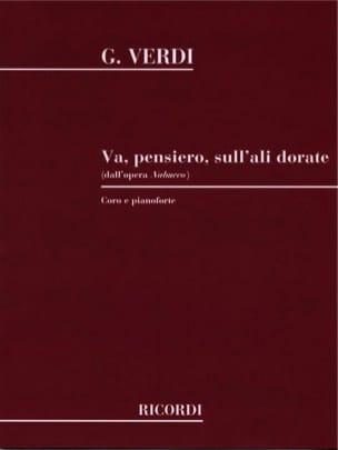 VERDI - Go Pensiero. Nabucco - Sheet Music - di-arezzo.co.uk
