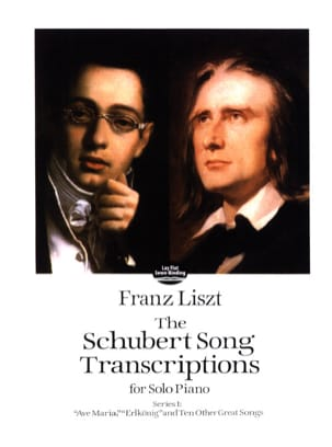 The Schubert Songs Transcriptions Série 1 LISZT Partition laflutedepan