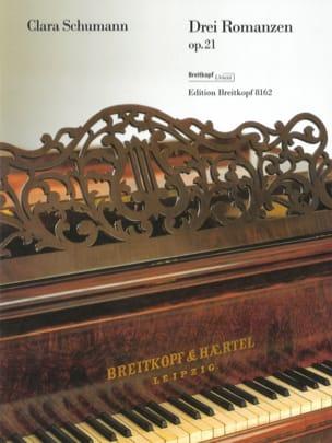Clara Schumann - 3 Opus 21 Romance - Partitura - di-arezzo.es