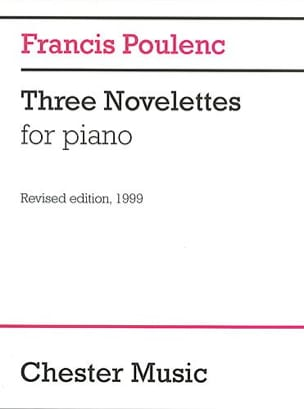 Francis Poulenc - 3 Novelettes - Sheet Music - di-arezzo.co.uk