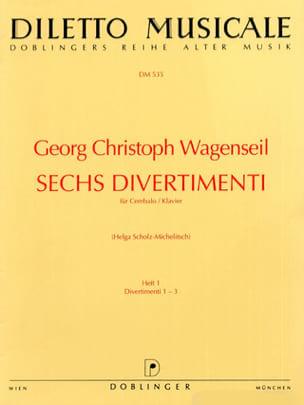 6 Divertimenti Vol 1 - Georg Christoph Wagenseil - laflutedepan.com