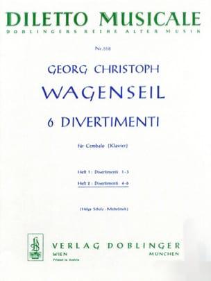 6 Divertimenti Vol 2 - Georg Christoph Wagenseil - laflutedepan.com