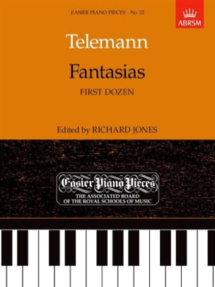 TELEMANN - Fantasies 1st Dozen - Sheet Music - di-arezzo.co.uk