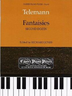 TELEMANN - Fantasies 2nd Douzaine. - Sheet Music - di-arezzo.com