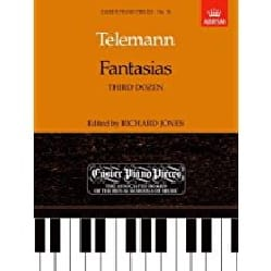 Georg Philipp Telemann - Fantaisies 3ème Douzaine - Partition - di-arezzo.fr