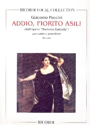 Addio, Fiorito Asil. Madama Butterfly PUCCINI Partition laflutedepan