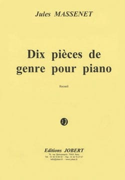 Jules Massenet - 10 Pieces of Genus Opus 10 - Sheet Music - di-arezzo.co.uk