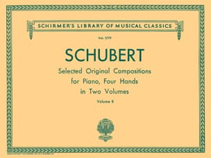 SCHUBERT - Works For 4 Hands Volume 2 - Sheet Music - di-arezzo.co.uk