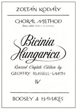 Zoltan Kodaly - Bicinia Hungarica Volume 4 - Sheet Music - di-arezzo.com