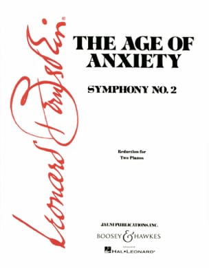 The Age Of Anxiety. 2 Pianos - Leonard Bernstein - laflutedepan.com