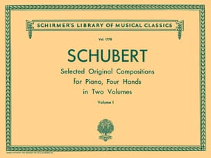SCHUBERT - Oeuvres pour 4 Mains. Volume 1 - Partition - di-arezzo.fr