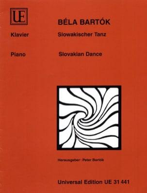 Bela Bartok - Danse Slovaque - Partition - di-arezzo.fr