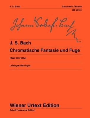 Fantaisie Chromatique et Fugue BWV 903 et 903a BACH laflutedepan