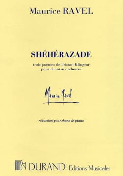 Maurice Ravel - Scheherazade. - Sheet Music - di-arezzo.co.uk