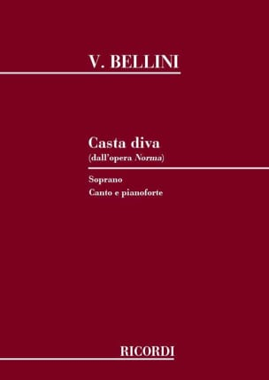 Vincenzo Bellini - Casta Diva. Norma - Sheet Music - di-arezzo.co.uk