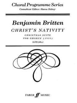 Christ's Nativity - Benjamin Britten - Partition - laflutedepan.com