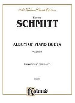 Album Opus 26 Vol 1. 4 Mains - Florent Schmitt - laflutedepan.com