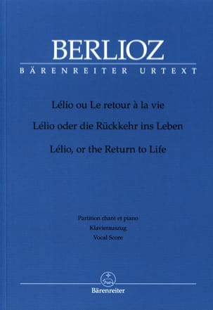 BERLIOZ - Lélio, Or The Return To Life. Hol 55 - Partition - di-arezzo.co.uk