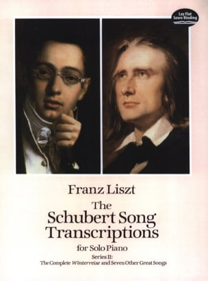 Franz Liszt - The Schubert Song Transcriptions. Série 2 - Partition - di-arezzo.fr