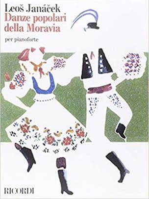 Danses Populaires De Moravie. 4 mains JANACEK Partition laflutedepan