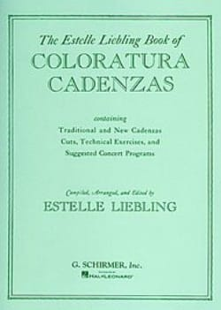 - Coloratura Cadenzas. - Sheet Music - di-arezzo.co.uk