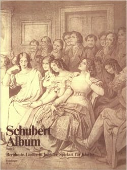 SCHUBERT - Schubert Album Volume 2 - Partition - di-arezzo.fr